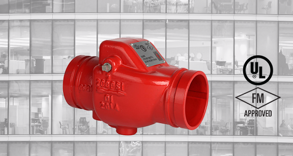 Grooved Type Check Valve Model No. Revision Notification