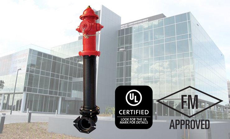 UL/FM Approved Dry Barrel Hydrant