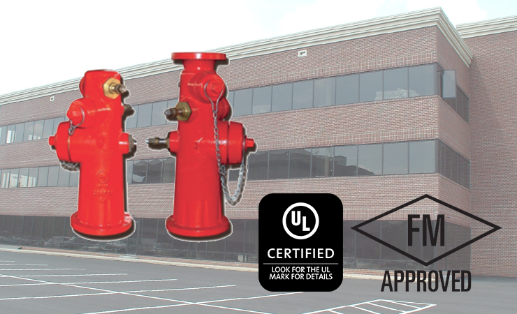 UL/FM Approved Wet Barrel Hydrant