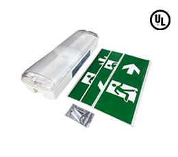 LED Exit/Emergency Light Combination