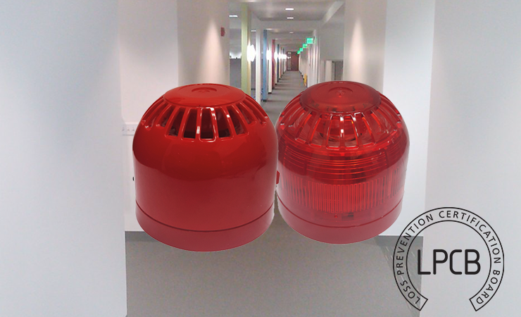 LPCB Approved Conventional Sounder and Sounder Beacon