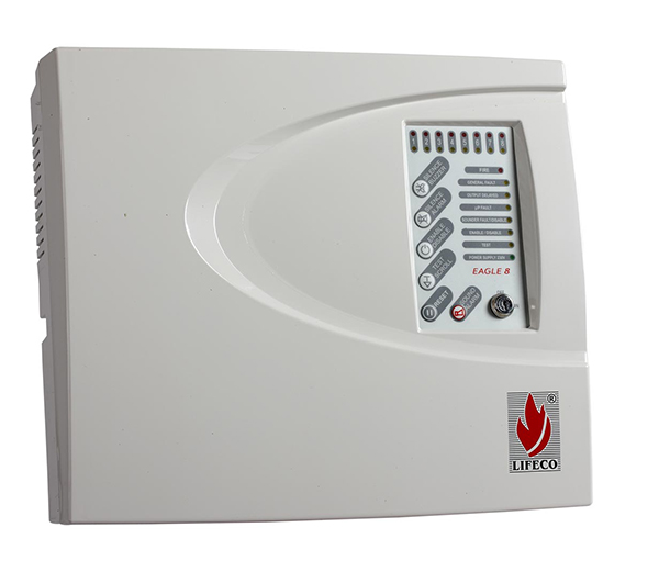 8 Zone Fire Alarm Control Panel – Eagle 8