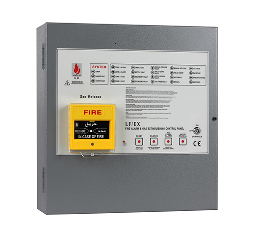Gas Extinguishing Panel