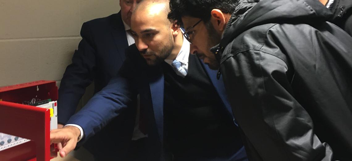 KSA MOI visits LIFECO UK