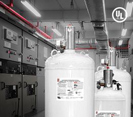 LIFECO 227ea Clean Agent Suppression System