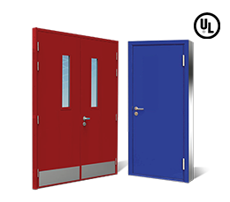 Air Leakage Fire Rated Door