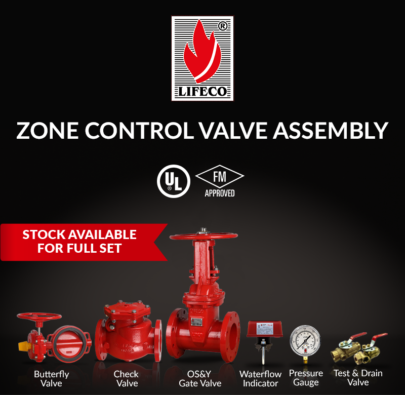 LIFECO's Zone Control Valve Assembly